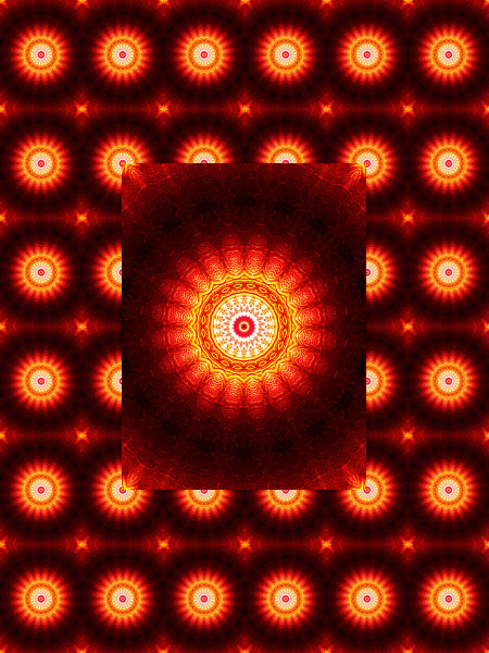 Verre rouge - Ombre et lumière 1 [2012] (Création et conception graphique de Didier Desmet)