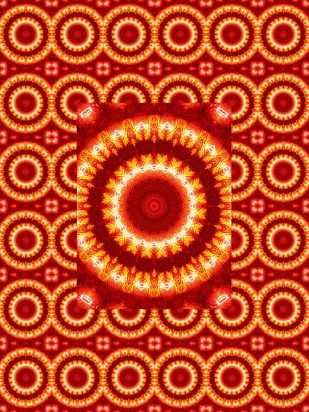Verre rouge : Ombre et lumière #3 [2012] (Création et conception graphique de Didier Desmet) [Motif] [Pattern] [Motifs] [Patterns] [Artiste Infirme Moteur Cérébral] [Infirmité Motrice Cérébrale] [IMC] [Paralysie Cérébrale] [Cerebral Palsy] [Handicap]