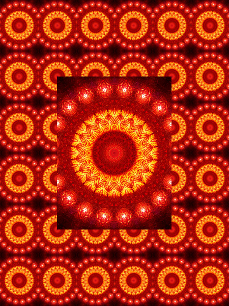 Verre rouge : Ombre et lumière #4 [2012] (Création et conception graphique de Didier Desmet) [Motif] [Pattern] [Motifs] [Patterns] [Artiste Infirme Moteur Cérébral] [Infirmité Motrice Cérébrale] [IMC] [Paralysie Cérébrale] [Cerebral Palsy] [Handicap]