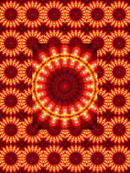 Verre rouge : Ombre et lumière #6 [2012] (Création et conception graphique de Didier Desmet) [Motif] [Pattern] [Motifs] [Patterns] [Artiste Infirme Moteur Cérébral] [Infirmité Motrice Cérébrale] [IMC] [Paralysie Cérébrale] [Cerebral Palsy] [Handicap]