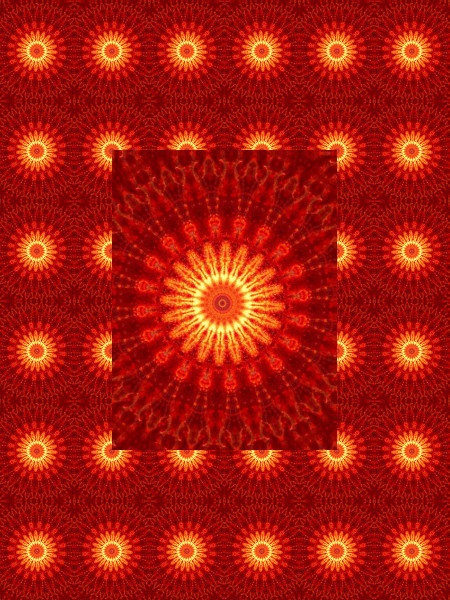 Verre rouge - Ombre et lumière 9 [2012] (Création et conception graphique de Didier Desmet) [Motif] [Pattern] [Motifs] [Patterns] [Artiste Infirme Moteur Cérébral] [Infirmité Motrice Cérébrale] [IMC] [Paralysie Cérébrale] [Cerebral Palsy] [Handicap]
